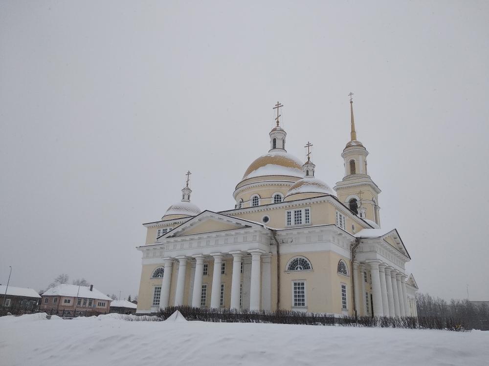 Спасо-Преображенский храм г. Невьянска