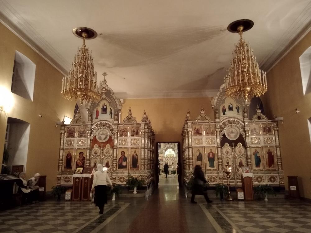 Спасо-Преображенский храм в Невьянске