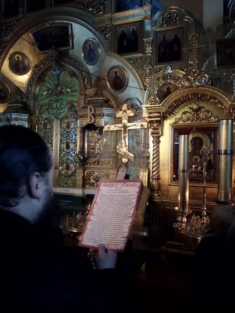 икона Божией матери «Знамение» в городе Верхний Тагил